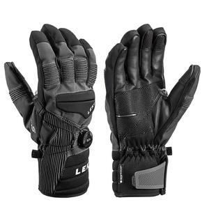 Gloves LEKI Progressive Tune S Boa® mf touch (643881303) charcoal / black, Leki