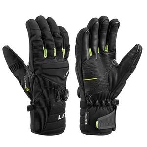Gloves LEKI Progressive Tune S Boa® mf touch (643881302) black / lime, Leki
