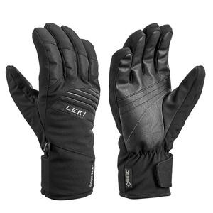 Gloves LEKI Space GTX (643861304) black / lime, Leki