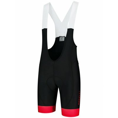 Cyclokrats Rogelli FLEX with gel cycling, black and red 002.225, Rogelli