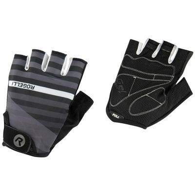 Cycling gloves Rogelli STRIPE, black and white 006.310, Rogelli