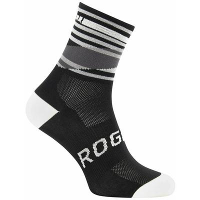 Design functional socks Rogelli STRIPE, black and white 007.203, Rogelli