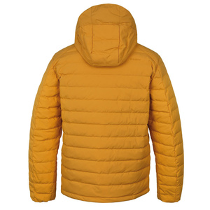 Men feather jacket Husky Donnie M cream yellow, Husky