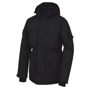 Men feather jacket Husky Dantex M black, Husky