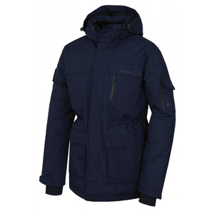 Men feather jacket Husky Dantex M dark, Husky