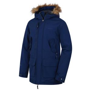 Men coat Husky Nelidas M tm. blue, Husky
