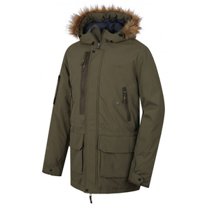 Men coat Husky Nelidas M tm. khaki, Husky