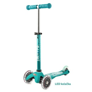 Scooter Mini Micro Deluxe Aqua LED, Micro