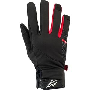 Children sports softshell gloves Silvini Ose CA1541 black 0820, Silvini