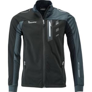 Men softshell jacket Silvini Casino MJ701X black, Silvini