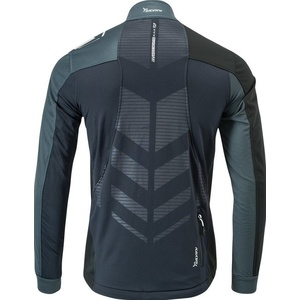 Men softshell jacket Silvini Casino MJ701X black, Silvini