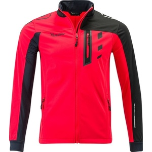 Men softshell jacket Silvini Casino MJ701X red, Silvini