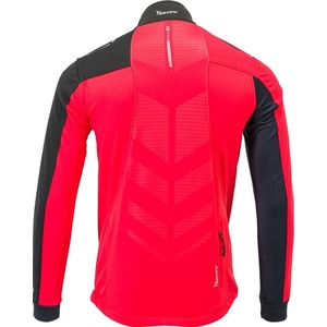 Men softshell jacket Silvini Casino MJ701X red, Silvini