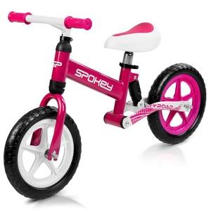 Children push bike Spokey OFF-ROAD white-pink, Spokey