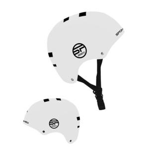 Junior helmet Spokey NINJA white, Spokey