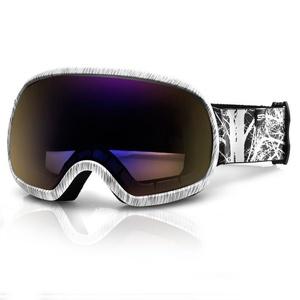 Spokey PARK ski glasses gray-white, Spokey