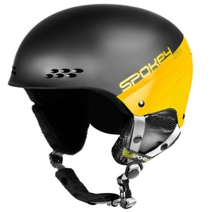 Ski helmet Spokey APEX black-yellow size. L / XL