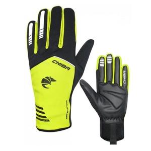 Cycling gloves Chiba 2nd SKIN black / yellow 31239.03-1, Chiba