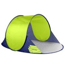 A self-deployable beach paravan Spokey ALTUS 195x120x85 cm green, Spokey