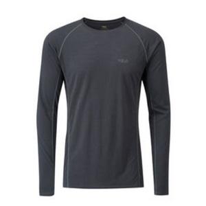Men shirt Rab Merino+120 ebony, Rab