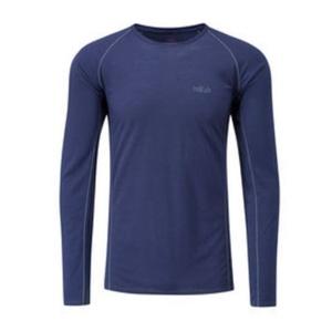 Men shirt Rab Merino+120 twilight, Rab