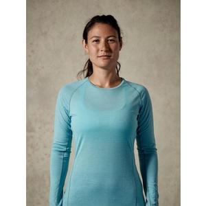 Women shirt Rab Merino+120 cool grey, Rab