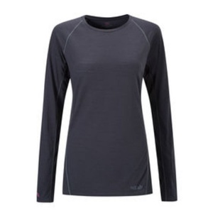 Women shirt Rab Merino+120 ebony, Rab