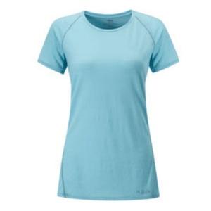 Women shirt Rab Merino+120 SS cool grey, Rab