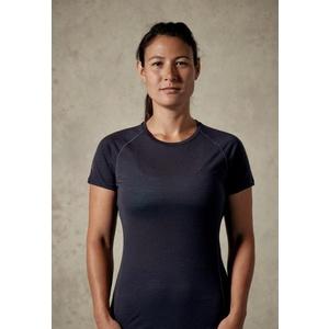 Women shirt Rab Merino+120 SS ebony, Rab