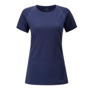 Women shirt Rab Merino+120 SS twilight, Rab