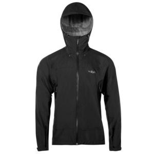 Men jacket Rab Downpour Plus Jacket black, Rab