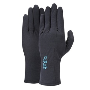Gloves Rab Merino+ 160 Glove Women's ebony, Rab