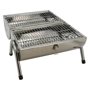 Grill to wood coal Cattara DOUBLE 2x 38cm travel, Cattara