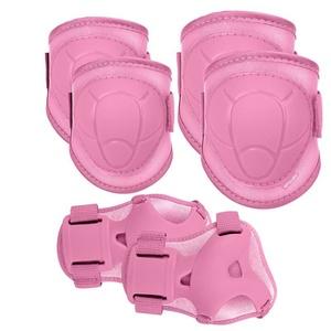Set children protectors Spokey BUFFRE pink, Spokey