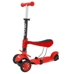 Three-wheeler Spokey TRIPLA red, Spokey