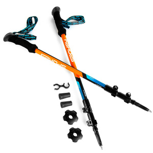 Trekking sticks Spokey ZION blue-orange, Spokey