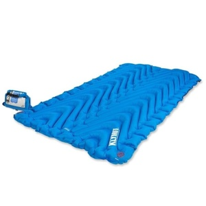 Inflatable sleeping pad Klymit Double V blue, Klymit