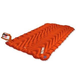 Inflatable sleeping pad Klymit Insulated Double V orange, Klymit