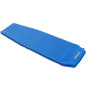 Self inflated sleeping pad Snugpak XL with built-in pillow blue