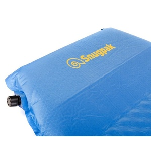 Self inflated sleeping pad Snugpak XL with built-in pillow blue, Snugpak