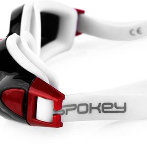 Swimming glasses Spokey ROGER black and red, Spokey