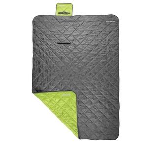 Spokey CANYON Sleeping bag 200x140cm, type: blanket, gray / green, Spokey
