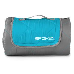 camping blanket Spokey CANYON 200x140cm gray / blue, Spokey