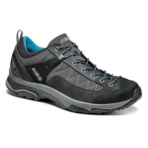 Shoes ASOLO Pipe GV ML graphite / graphite / cyan blue/A930, Asolo