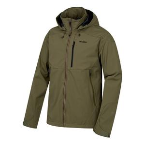 Men softshell jacket Husky Sauri M tm. olive, Husky