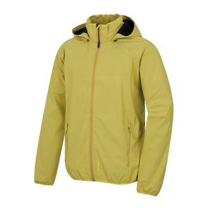 Men softshell jacket Husky Sally M light. mustard, Husky