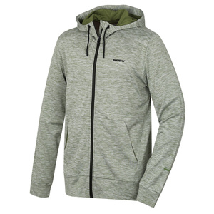 Men hoodie Husky Alony M dark green, Husky