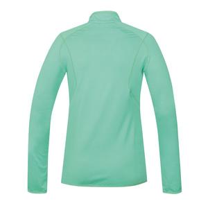 Women hoodie Husky Tarp zipper L mint, Husky