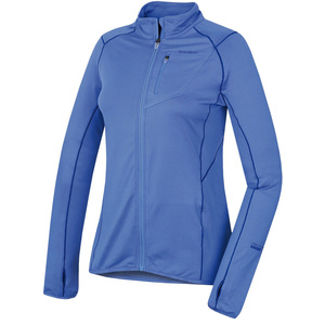 Women hoodie Husky Tarp zipper L royal blue, Husky