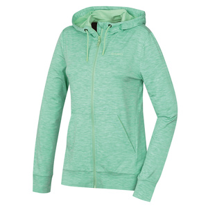 Women hoodie Husky Alony L mint, Husky